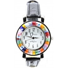 Orologio Donna Marrone watch in Vetro di Murano e antica Murrina Millefiori