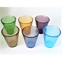 Bicchiere Murrine Glasses Millefiori Thousand Flowers Murano Glass