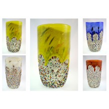 Vaso murrine disponibile in 4 colori