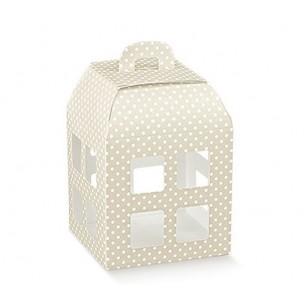 Scatole Regalo A Pois.Scatole Confezione Regalo Lanterna Bomboniera Matrimonio