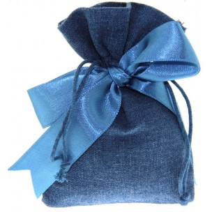 Bomboniera Sacchetto Blu