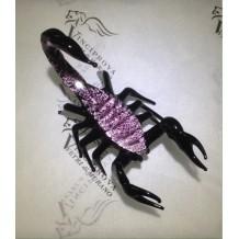 Scorpione in vetro di Murano made in italy