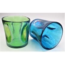 2 Bicchieri Acqua Vino Liquore Collezione: Murano Dimensioni Articolo: happy Drink Bicchieri ø mm.90 x h mm.90