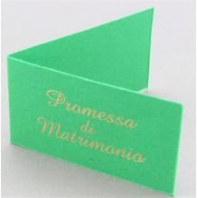 Bigliettini Matrimonio Sposi Personalizzati per Bomboniera