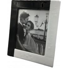 Portafoto In Vetro Di Murano E Murrine Millefiori  Made in Italy