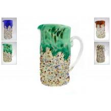 Caraffa murrine disponibile in 4 colori