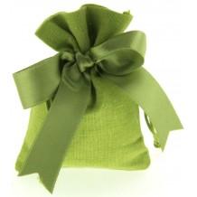 Bomboniera Sacchetto Verde