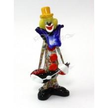 Clown Vetro di Murano h28cm Made in Italy
